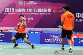 Kejuaraan Dunia  Junior - Satu wakil ganda putra berhasil lolos ke perempat final