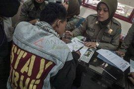 Belasan anak punk diamankan Satpol PP Ngawi