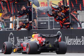 Verstappen juara di balapan GP Jerman