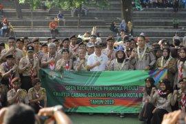 Pramuka Penggalang se-Kota Bogor ikuti seleksi Pramuka peduli