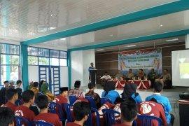 KNPI Tapin laksanakan pelatihan kader bela negara