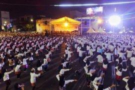 Lampung pecahkan rekor MURI gelar Tari Rudat dengan penari terbanyak