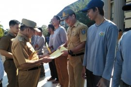 Bupati Bangka Tengah apresiasi atlet peraih medali Porprov Korpri