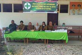 TNI buka layanan kesehatan di program TMMD