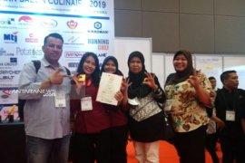Mahasiswa Poltekpar Medan raih medali dalam kompetisi Salon Culinaire 2019