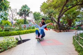 Luasan ruang terbuka hijau untuk publik di Kota Surabaya lebihi target