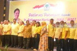 Airlangga apresiasi dukungan  Golkar Sumut dan Aceh
