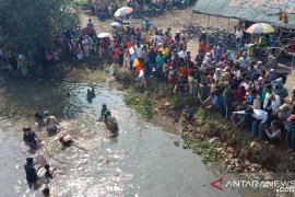 "Ribuan warga Kabupaten Serang ikuti tradisi ""Ngagurah Dano"""