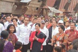 Presiden tinjau titik awal peradaban penegakan hukum  Samosir