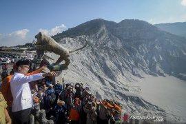 Ridwan Kamil tinjau gunung Tangkuban Parahu
