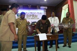 DPRD Sibolga setujui 2 Ranperda menjadi Perda