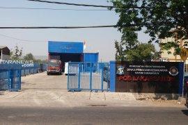 Pos Damkar Lakarsantri Surabaya terkena dampak proyek JLLB