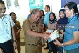 BPJS beri penghargaan kepada badan usaha di Kota  Gunungsitoli