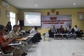 KPU Bangka Tengah catat partisipasi pemilih 83,57 Persen