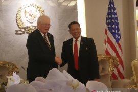Ketua DPR menerima kunjungan Delegasi Parlemen Amerika Serikat