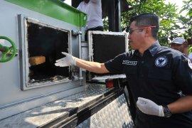BNN Banten musnahkan barang bukti 150 kg ganja