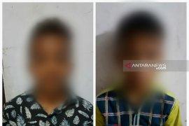 Polisi tangkap anak dibawah umur komplotan 'becak hantu'