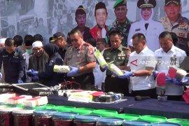 Warga Alue Papeun Aceh Utara siap dukung Polri berantas narkoba