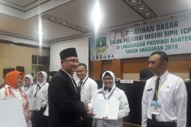 Wagub Banten melepas 240 CPNS selesai Diklatsar