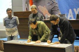 Pemkot Bogor teken kerja sama dengan beberapa pihak saat Rakerda Bogor