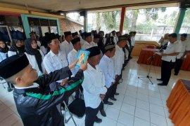 Puluhan anggota BPD Muaratembesi dilantik