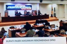Bupati Paser Masukan Rekomendasi DPRD di APBD-P 2019