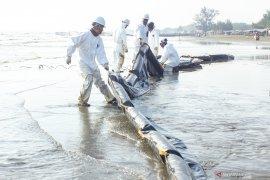 Pertamina siagakan 45 kapal atasi tumpahan minyak di perairan Karawang