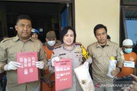 Polres Cianjur tangkap lima pengedar narkoba, salah satunya ibu rumah tangga