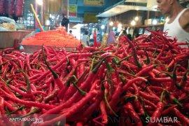 Kenaikan harga cabai merah salah satu pendorong inflasi di Jambi