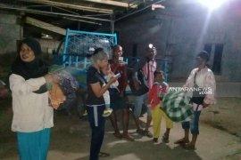 Warga pesisir Bengkulu mengungsi ke tempat tinggi pascagempa magnitudo 7,4