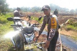 Polisi modifikasi kendaraan untuk sedot air padamkan karhutla