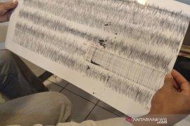 Gempa Banten terekam oleh seismograf Tangkuban Parahu