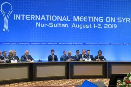 Turki upayakan penyelesaian politik di  Suriah