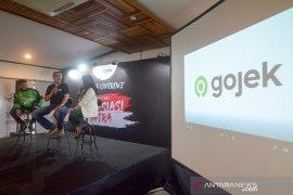 Pengenalan Logo Baru Gojek di Bandung