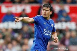 Man United dan Leicester sepakati harga Harry Maguire