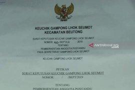 Warga Nagan Raya, Aceh tertawakan SK Kades salah logo