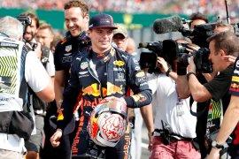 Verstappen raih posisi start terdepan di GP Hungaria, pertama kali dalam karirnya