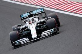 Hamilton tercepat pada latihan terakhir GP  Hungaria