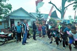 Lomba Lari 5K perebutkan Piala Camat Angkola Muara Tais