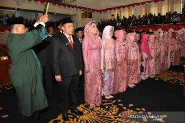 49 anggota DPRD Kabupaten Karawang terpilih dilantik