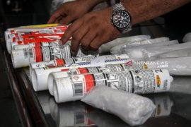 Polres Sampang amankan satu kilogram sabu-sabu asal Malaysia