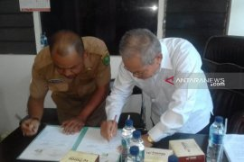 """UDD PMI Tapanuli Selatan dan RSU Metta Medika """"MoU"""" droping darah"""