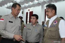 Kepala BNPB minta Lanud Supadio sigap atasi karhutla