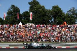Juara F1 GP Hungaria, Hamilton pupuskan harapan Verstappen