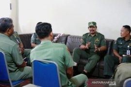Wabup Kasta monitoring  Dinas PUPR dan Dinas Sosial