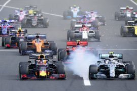 F1 bahas kemungkinan gelar seri balapan di Arab Saudi