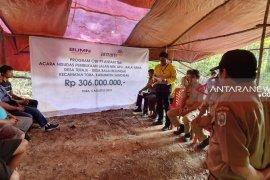 Antam bantu warga buka jalan senilai Rp306 juta