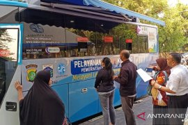 Di Jakpus, pascabanjir Jakarta layanan Samsat Keliling hanya ada