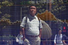 Saham Tokyo menguat didukung meredanya masalah perdagangan