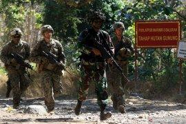 Latihan Marinir Indonesia dan USMC